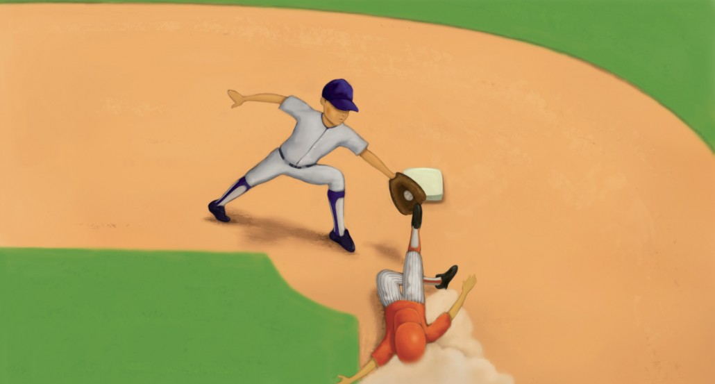 Steve Trout Baseball